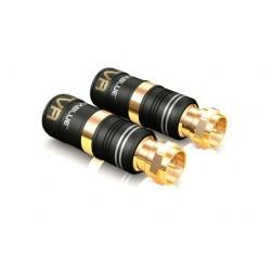 Conectores F PLUG Viablue TVR