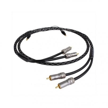 Cable de Phono Spirit RCA-RCA 1,5 m